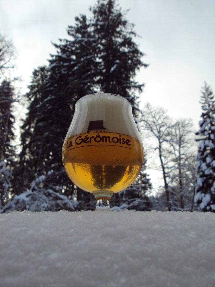 Bière La Géromoise fabriquée à Gérardmer