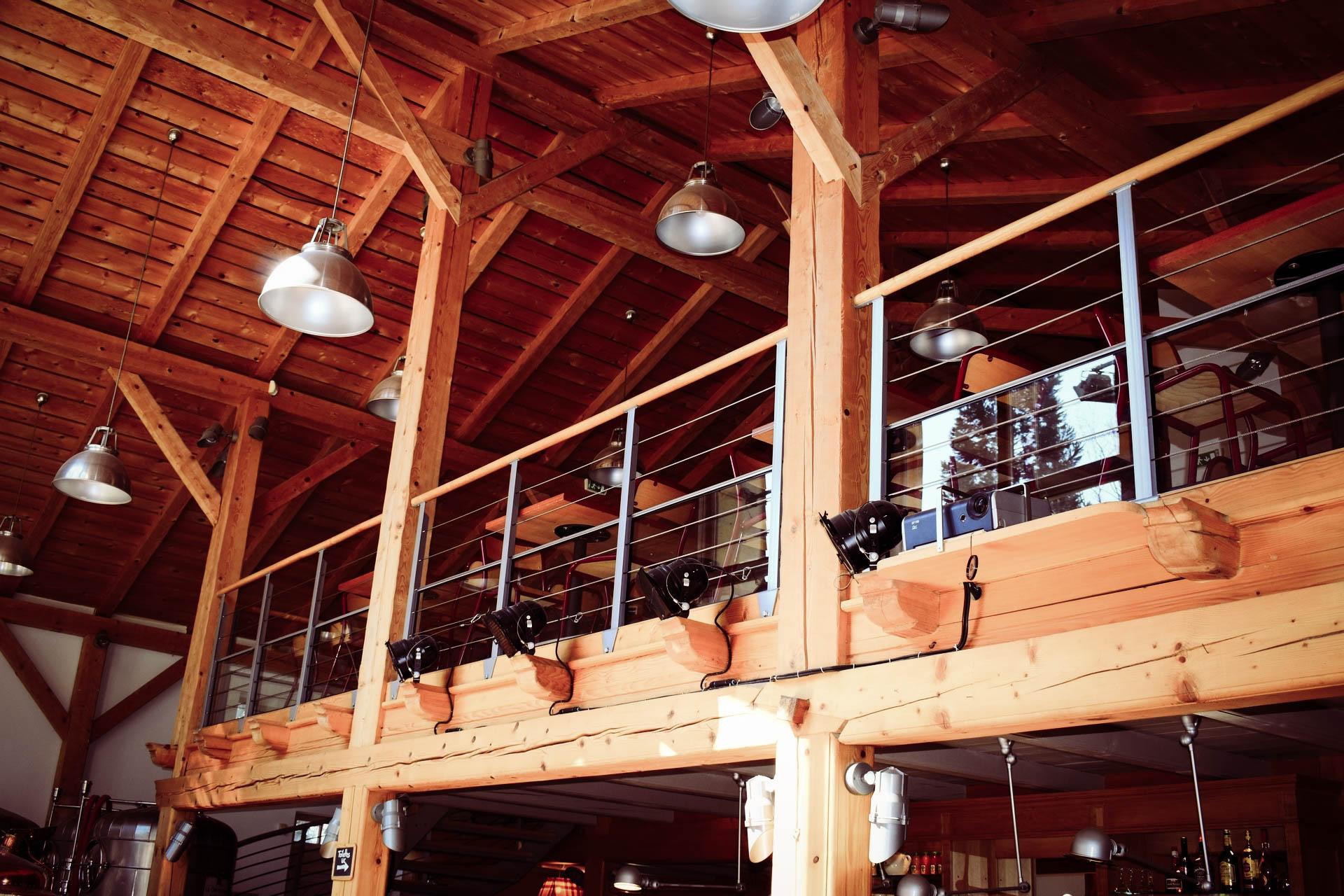 salle de restaurant lac de Gérardmer