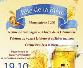 Fête de la bière - La Gérômoise